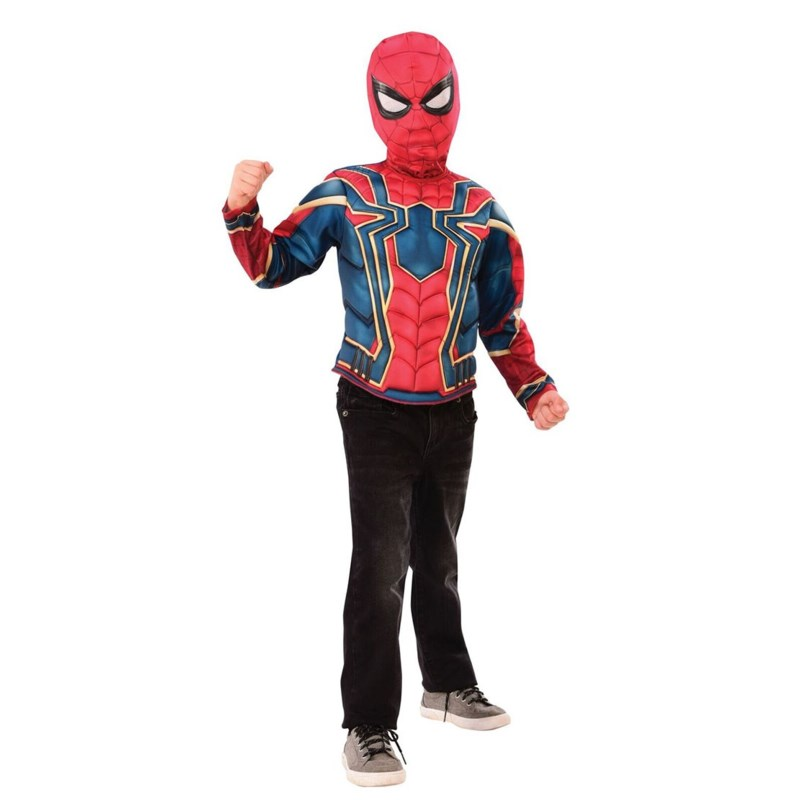 SPIDERMAN FAR FROM HOME MUSCLE CHEST SHIRT SET(4)