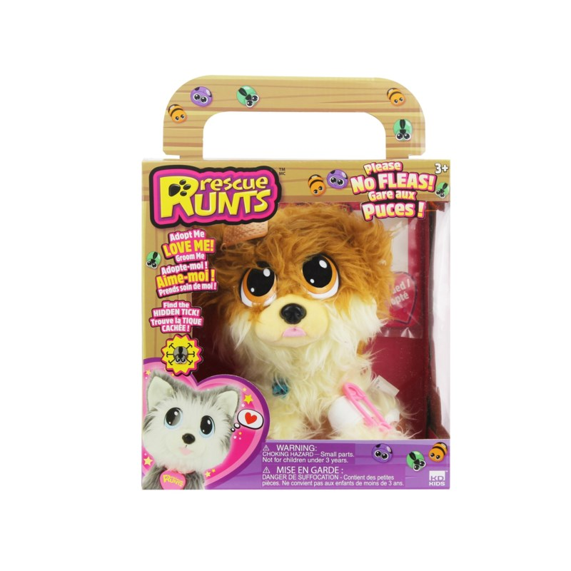 RESCUE RUNTS FEATURE SIZE SERIES 2 ASST (4) BL