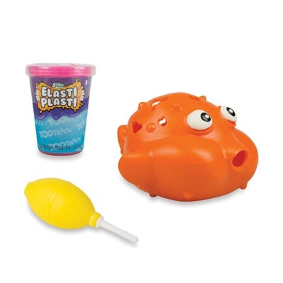 SLIMY™ ELASTI PLASTI™ TOOTABLES BLOWFISH (4) *SD* BL