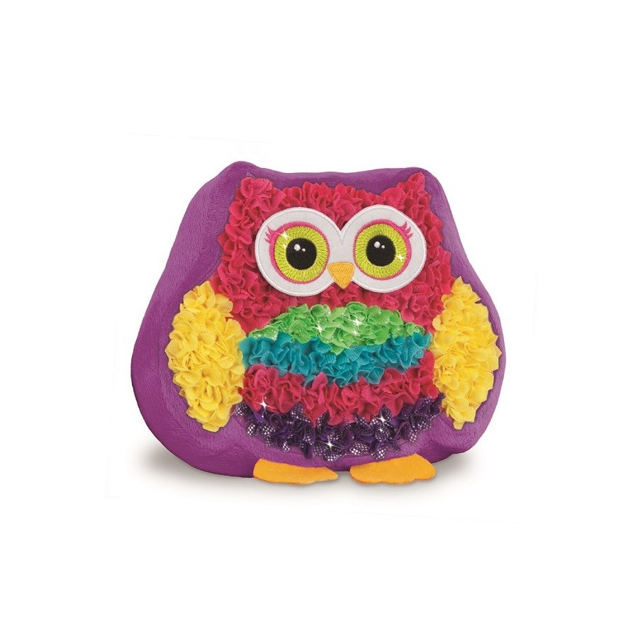 PLUSHCRAFT OWL PAL PILLOW (6) BL *D*