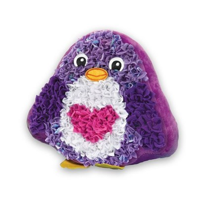 PLUSHCRAFT PENGUIN PILLOW (6) BL