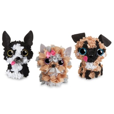 PLUSHCRAFT PUPPY PACK (3D) (6) BL *D*