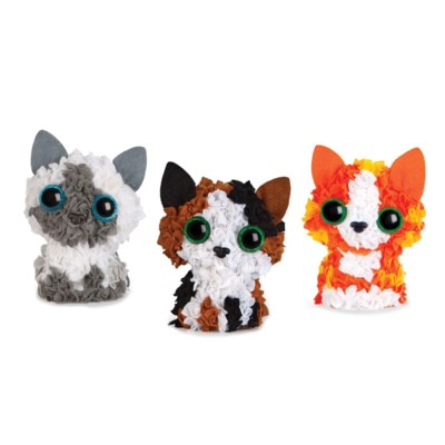PLUSHCRAFT KITTEN CLUB (3D)(6) BL