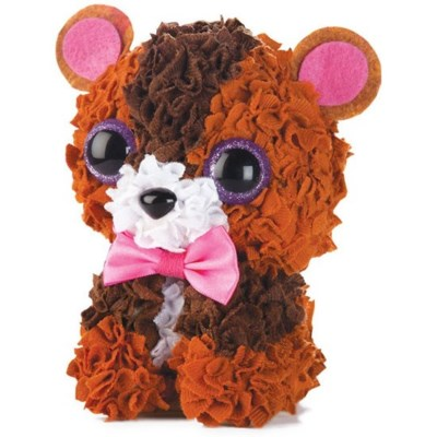 PLUSHCRAFT TEDDY BEAR (3D)(6) *SD* BL
