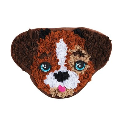PLUSHCRAFT PUPPY PILLOW (6)*SD* BL