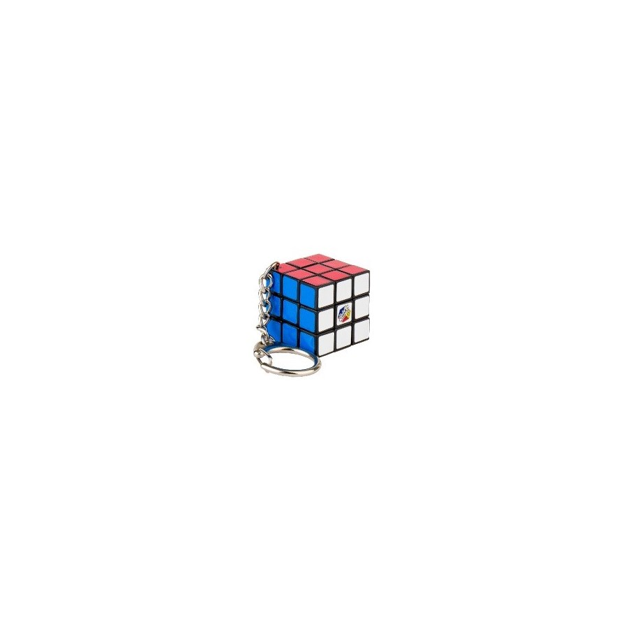 RUBIK'S KEY RING 3X3 CARDED BL (12)