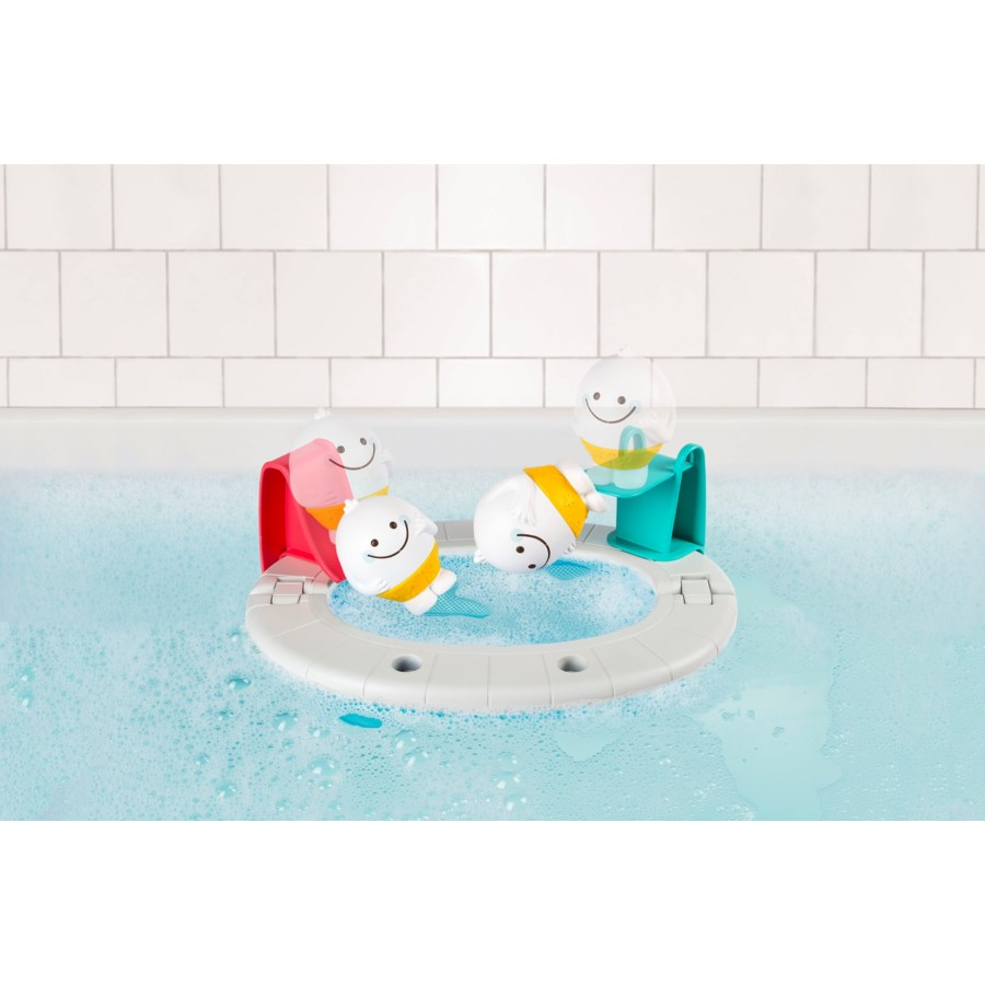 BATH - EZ CLEAN YETI'S POOL PARTY 4PC (4) BL*SD*