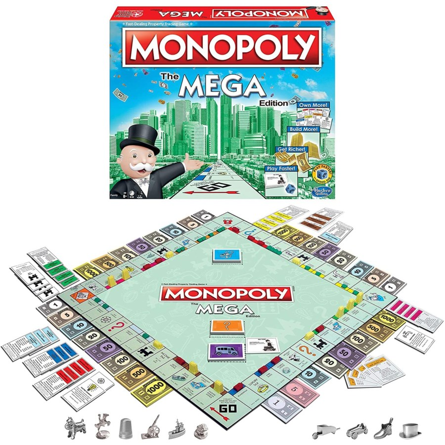 MONOPOLY THE MEGA EDITION (4)