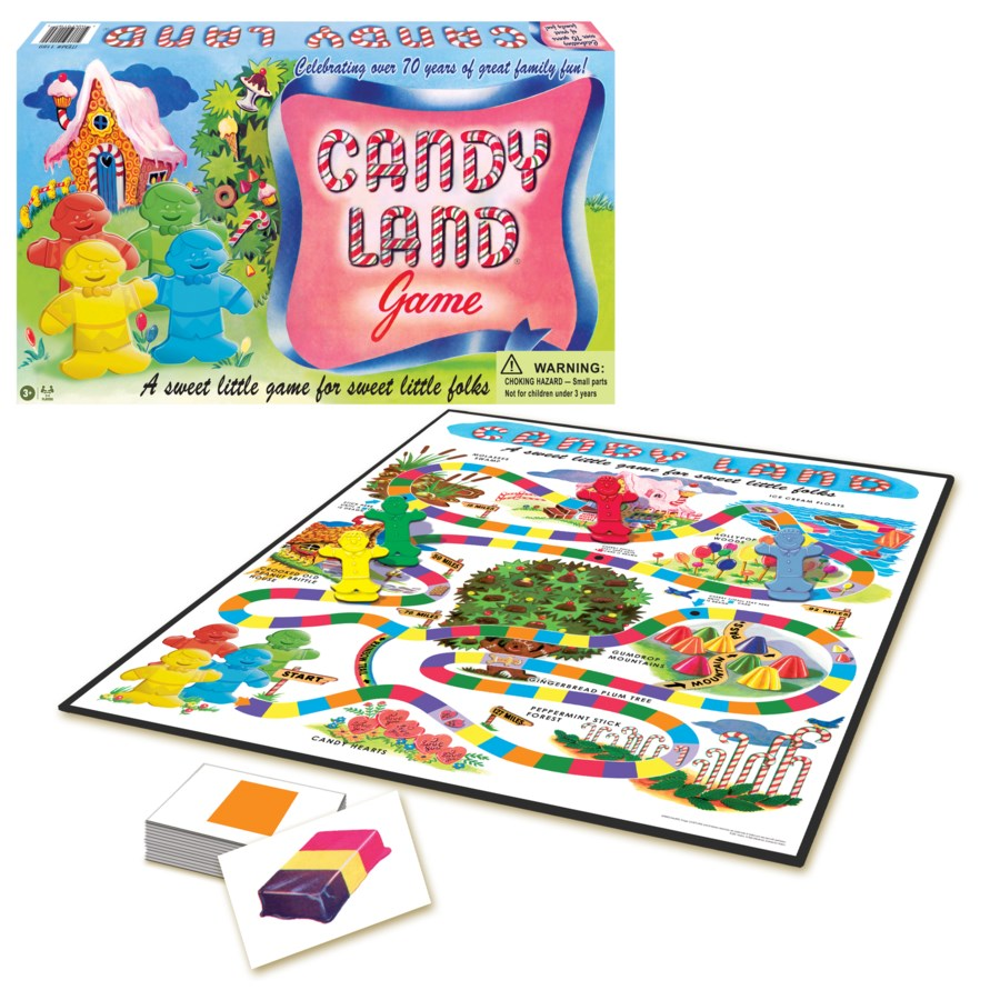 CANDY LAND 65TH ANNIVERSARY GAME (6)