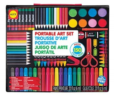 PORTABLE ART SET 150PC (6)