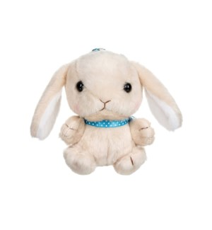 "AMUSE - TAN BUNNY 4""  KEYCHAIN (10) ML"