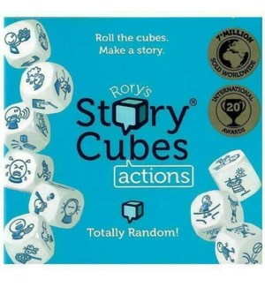 RORYS STORY CUBES ACTIONS W/DISPLAY(12)*ML*