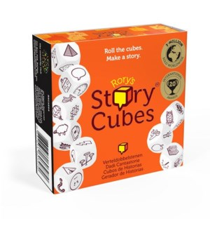 RORYS STORY CUBES W/DISP.(12)*ML*