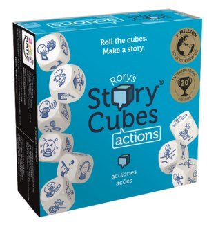 RORYS STORY CUBES ACTIONS CDU (12) ML