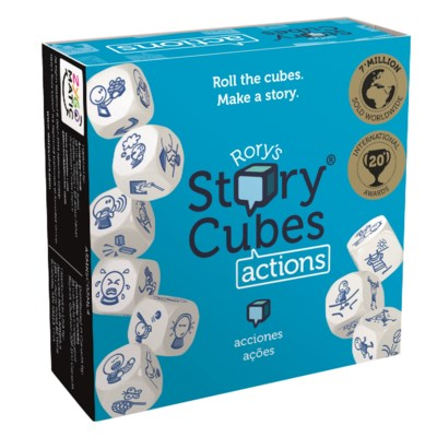 RORYS STORY CUBES ACTIONS W/DISPLAY(12)*F19*