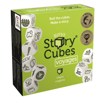 RORYS STORY CUBES VOYAGE W/DISP.(12)*F19*