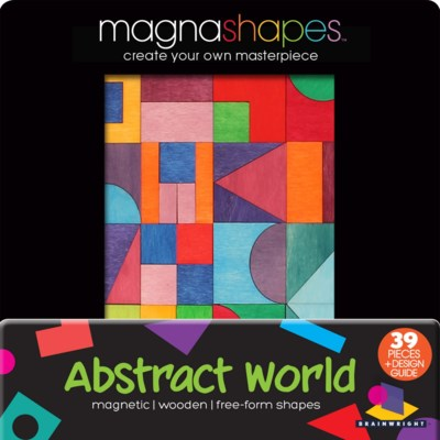 WOODEN MAGNETIC PUZZLE ASST. ONLY W/DISPLAY (9)