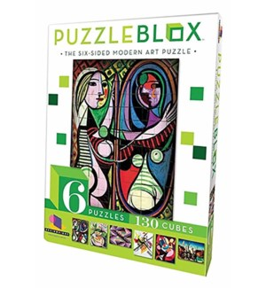 PUZZLE BLOX - MODERN ART ASST. W/DISPLAY (6) *D*