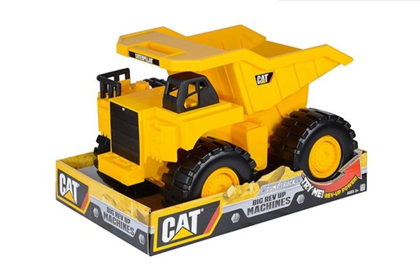 BIG REV UP MACHINE DUMP TRUCK (2)  *SD*