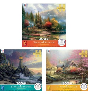 300PC THOMAS KINKADE INSPIRATIONS ASST (6) BL