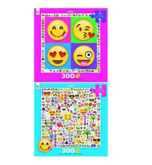 EMOJI 300 PCS. OVERSIZED ASST. (6) *SD*