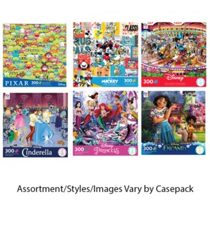 300PC DISNEY ASST (6) BL