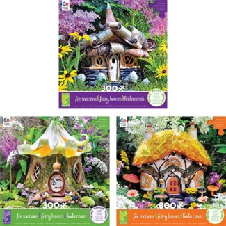OVERSIZED FAIRY HOUSE 300PC ASST (6)