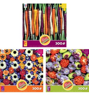OVERSIZED UGLY FRUIT ASSORTMENT 300 PIECE(6)