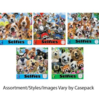 SELFIES PUZZLE 550PC  (6)