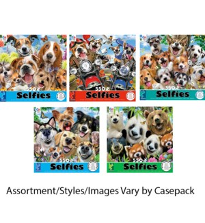 550PC SELFIES PUZZLE ASST (6) BL