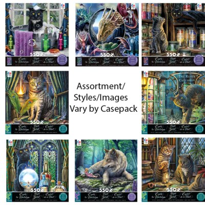 NIGHT SPIRIT ASSORTMENT 550 PIECE(6)