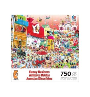 FUNNY BUSINESS 750PCS. (6) *D*