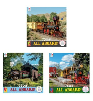 750PC ALL ABOARD! ASST (6) BL