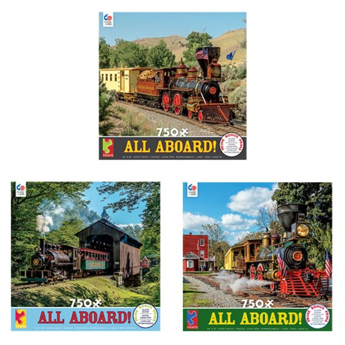 ALL ABOARD! 750PCS ASST (6) BL