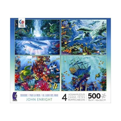 SEASIDE 4 IN 1 500PCS. (6) *D*