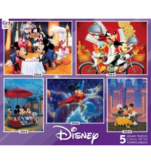 DISNEY MULTI-PACK MICKEY AND FRIENDS 5-IN-1 (6)