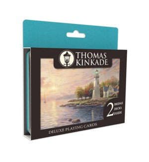 THOMAS KINKADE DELUXE PLAYING CARDS (8)