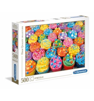 500PC HQC - COLORFUL CUPCAKES (2) ML