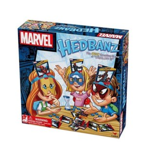 GAME - MARVEL HEDBANZ (6) *SD*