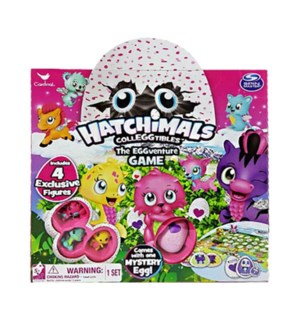 HATCHIMALS EGGVENTURE GAME BL (4) *SD*