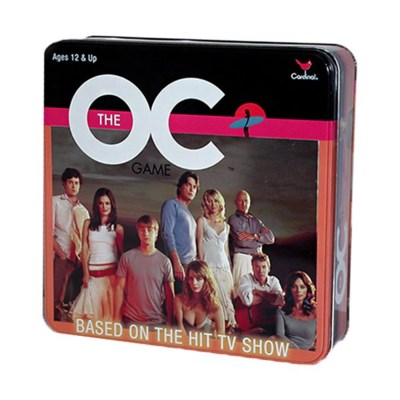 THE OC TRIVIA GAME IN TIN (3)*D*