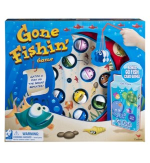 GENERIC GO FISH AND GONE FISHIN GAMES (6) *SD*