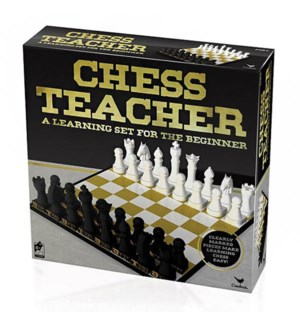 CHESS TEACHER IN FOIL BX(12)*BL*