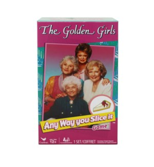 GAME - GOLDEN GIRLS ANY WAY YOU SLICE IT TRIVIA GAME (4)