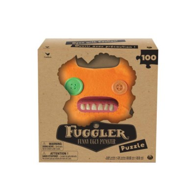 FUGGLER PUZZLE W/ TEETH ASST (3) BL *SPRING 2019* *SD*