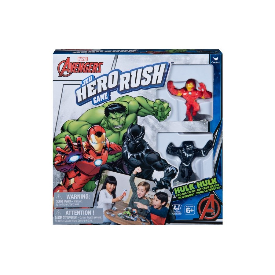 GAME - HERO RUSH GAMES (4) BL