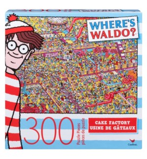 WHERE'S WALDO 300 PCS (3) BL *F19*