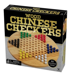 WOOD CHINESE CHECKERS (12) BL