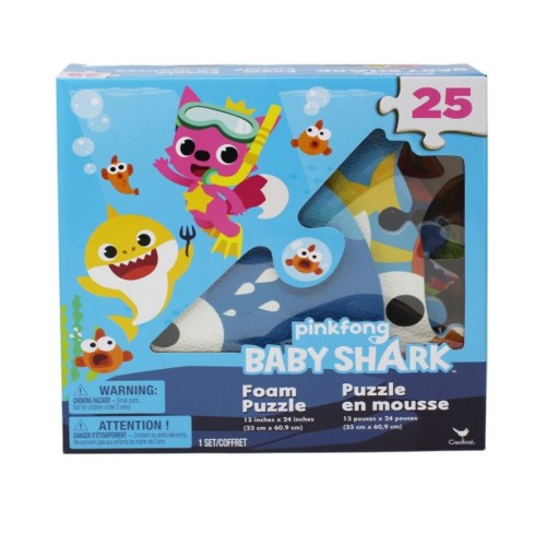 BABY SHARK FOAM PUZZLES (6) BL