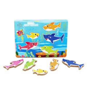 PUZZLE - BABY SHARK CHUNKY WOOD PUZZLE (6)